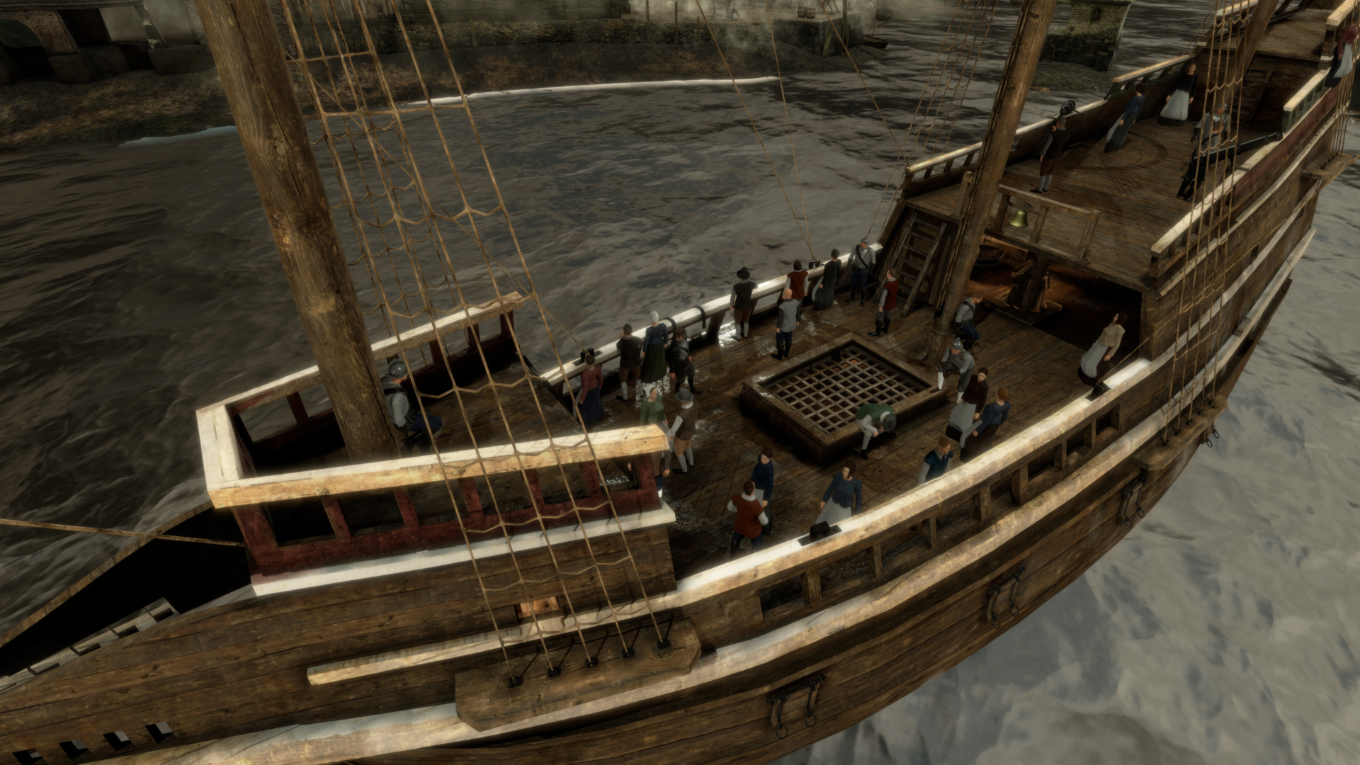 Virtual 1620s: Bringing history to life