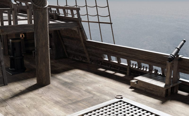 mayflower 1620 open deck