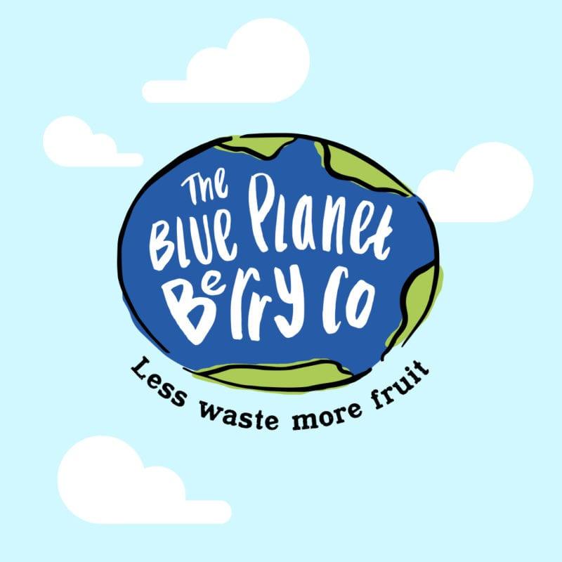 blue planet berry co logo