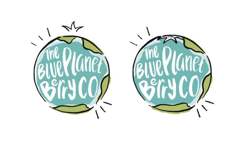 blue planet berry co alternative logos