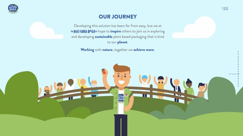 blue planet berry co website page