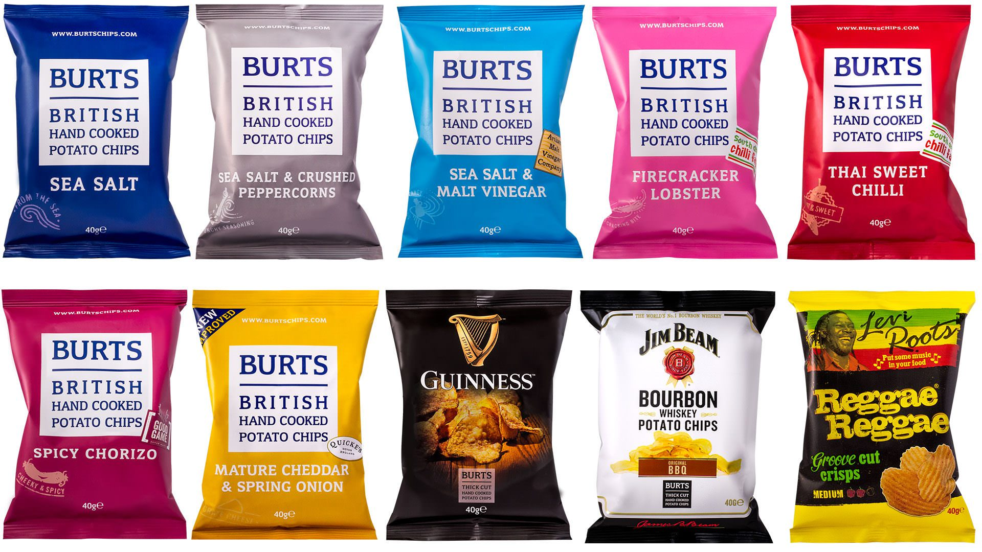 burts snacks packaging photography
