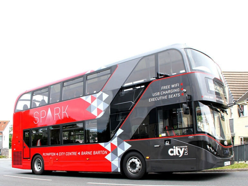 citybus plymouth livery