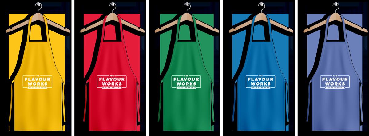 Flavourworks aprons