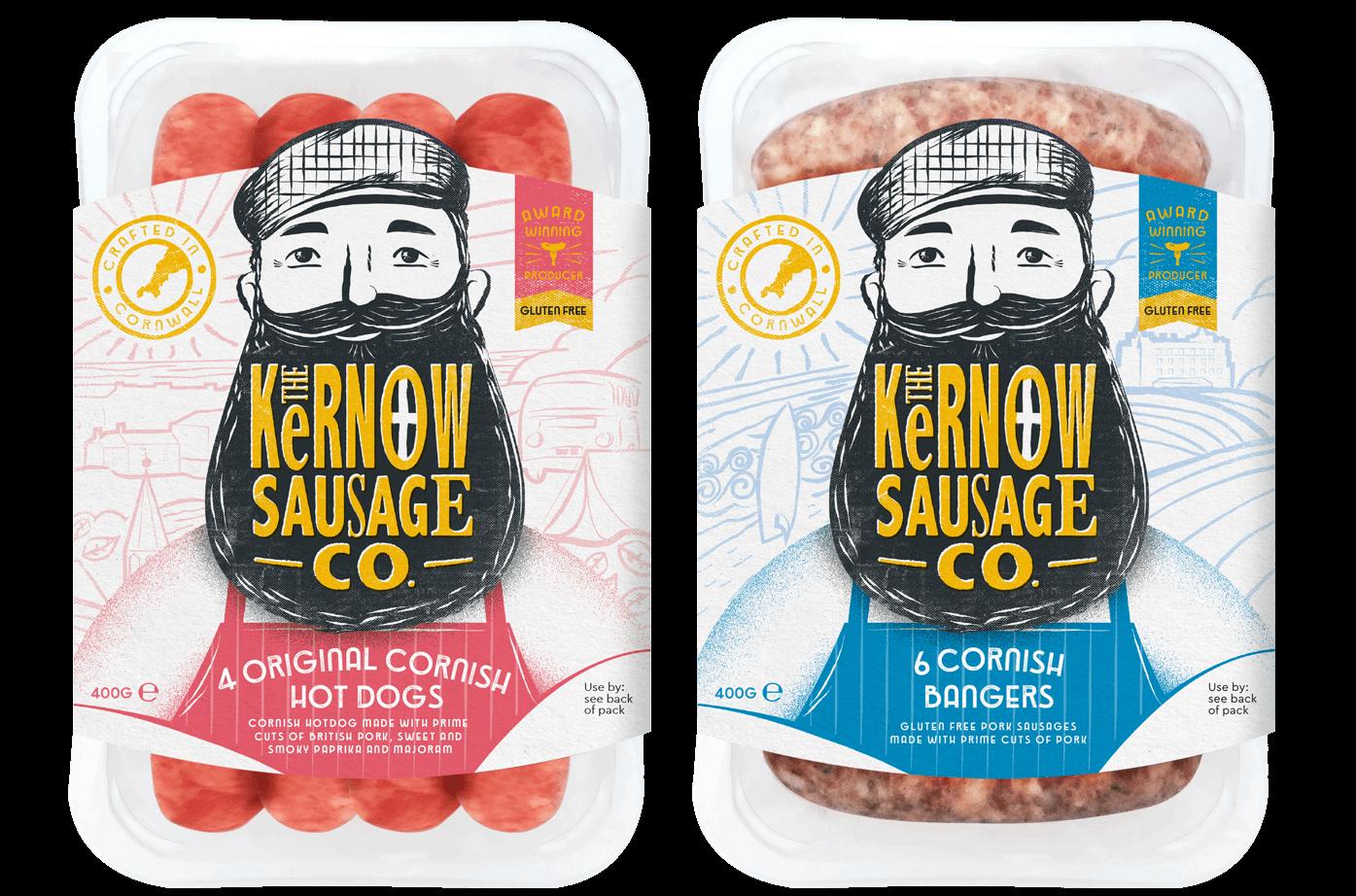 Kernow sausages banner