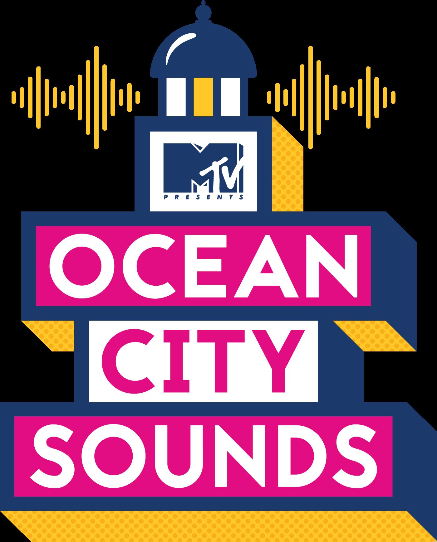 ocean city sounds logo