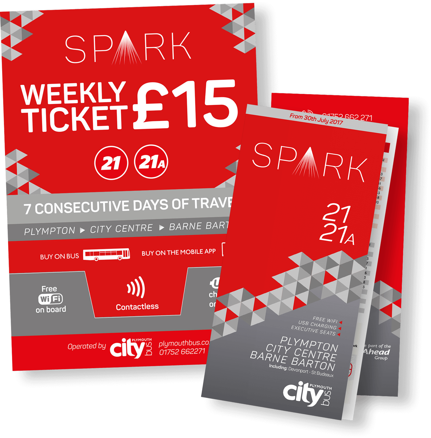plymouth citybus spark bus collateral