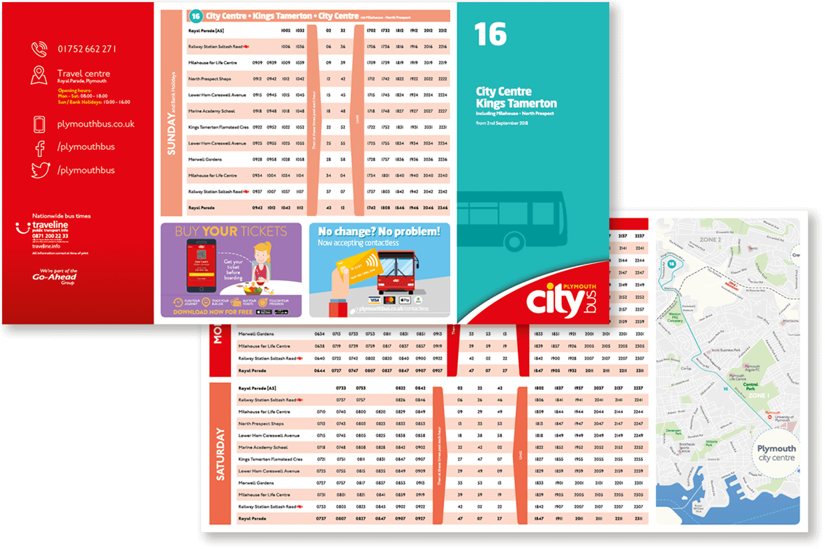 plymouth citybus timetables