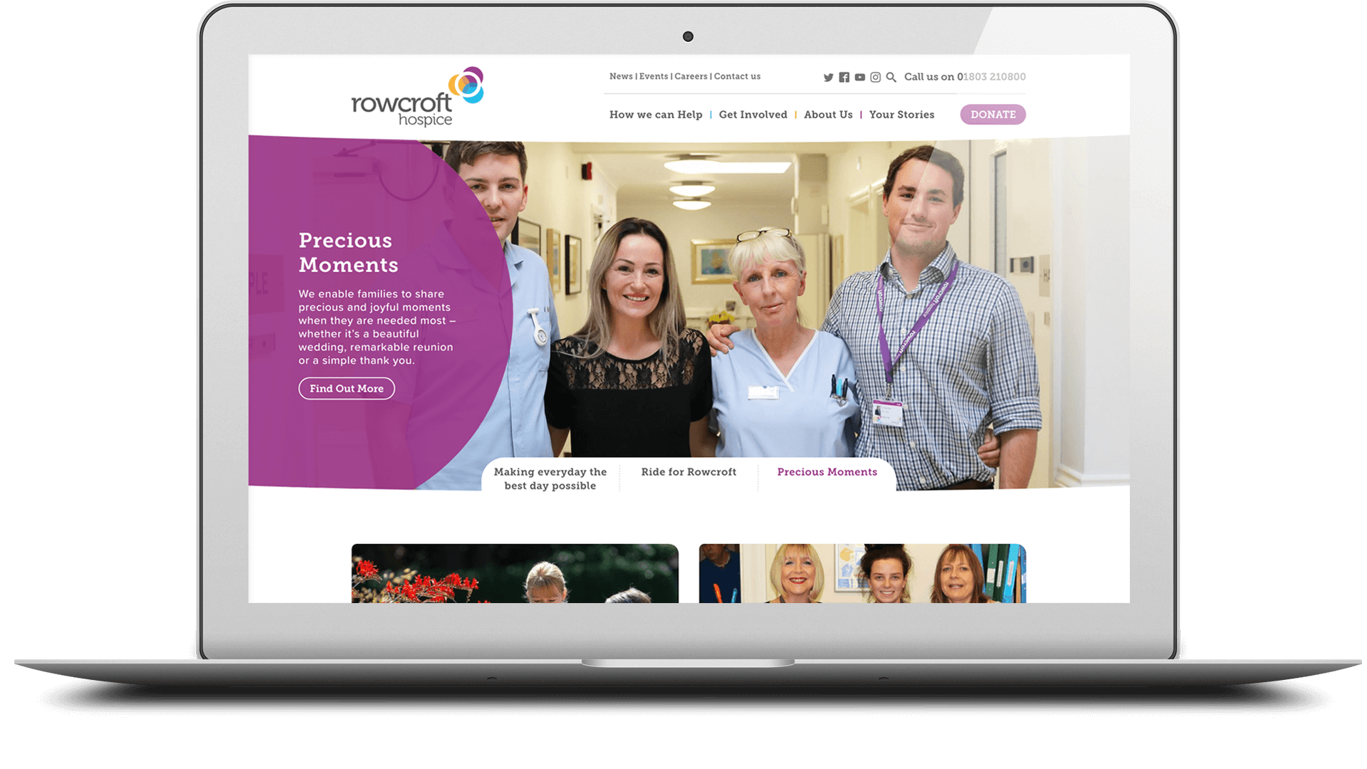 rowcroft hospice website