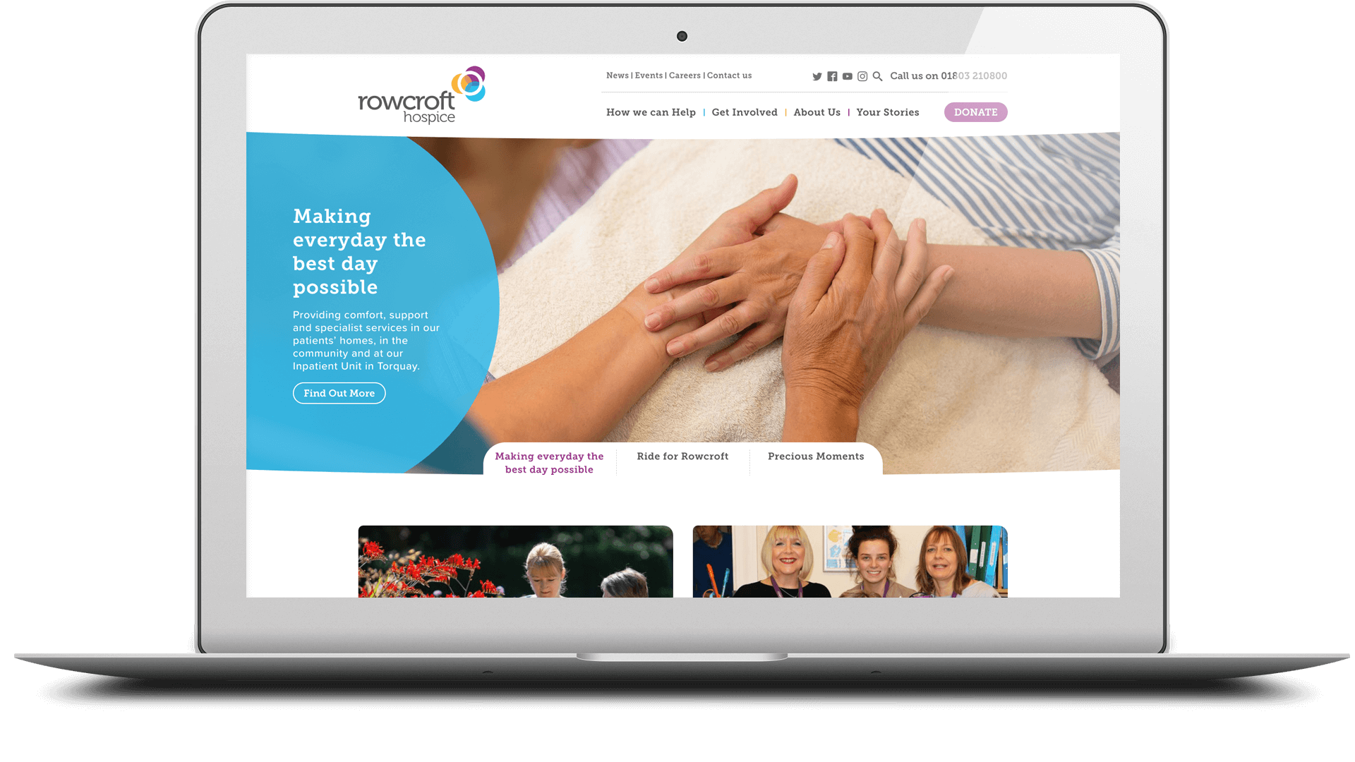 rowcroft website inner page