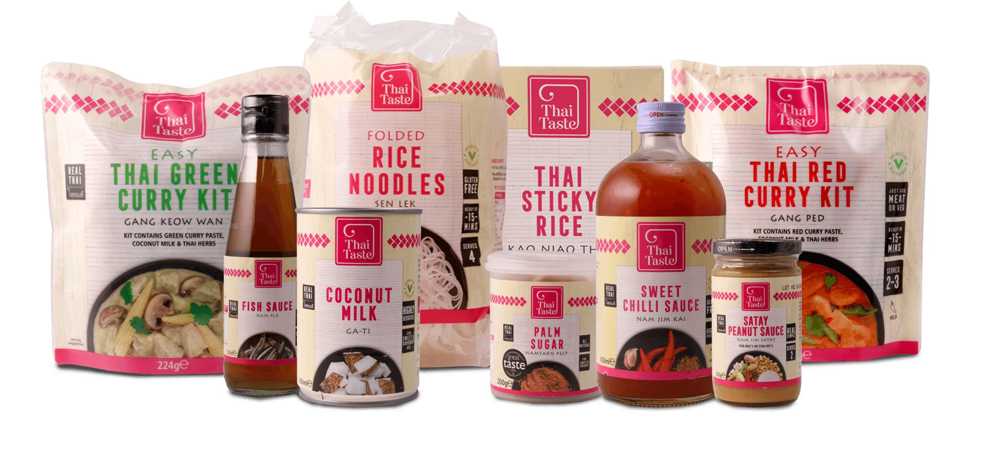 thai taste packaging