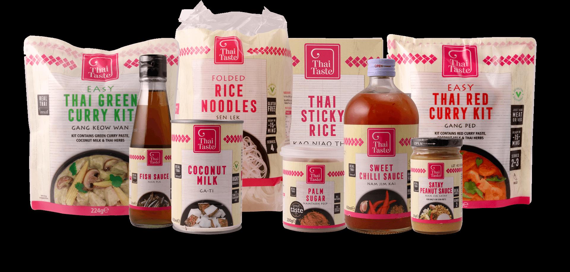 thai taste packaging