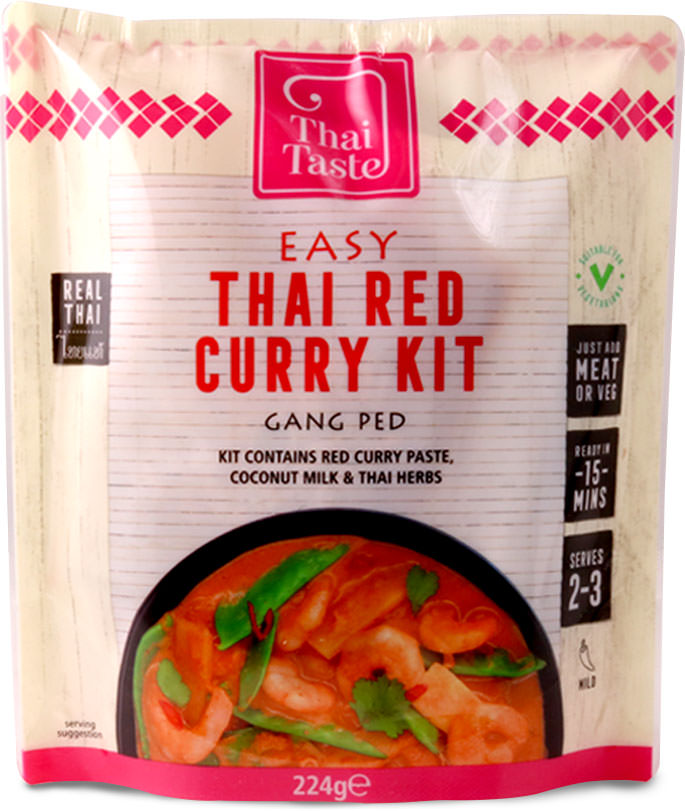 thai taste red curry kit