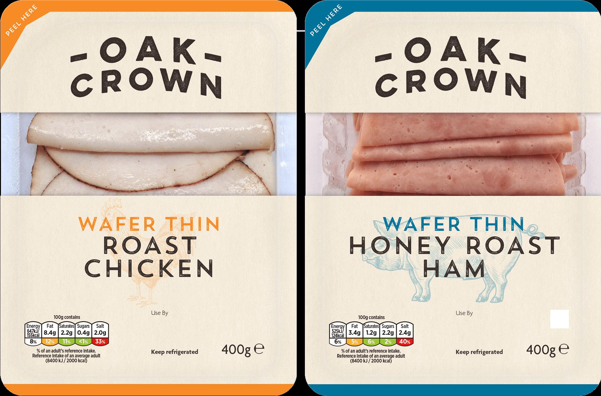tulip oak crown packaging