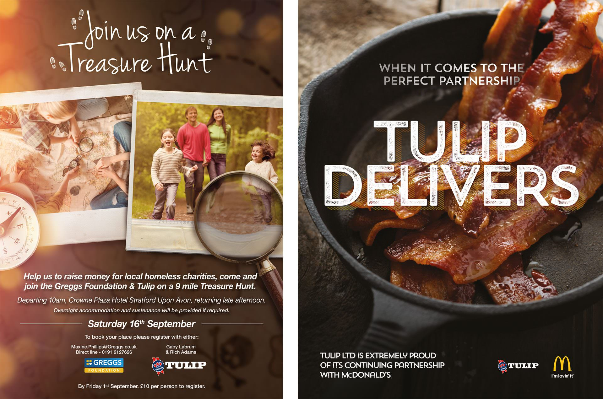 tulip trade comms adverts